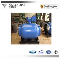 cast steel lever handle weld ball valve for water supply