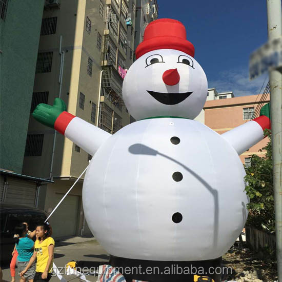 Commercial inflatable human size snow globe inflatable show ball for sale