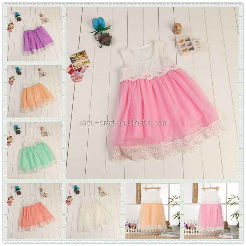 Wholesale 2 year old girl dress, modern girls dresses