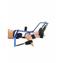 Dynamic hand splint wrist and finger trainer