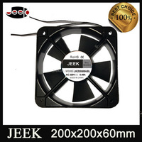 220v 20cm 200x200x60mm exhaust fan for poultry house 3v 5v 12v dc tiny cooling fan