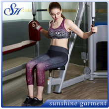 wholesale hot sex images fitness women sports polyester yoga fabric yoga pant leggings