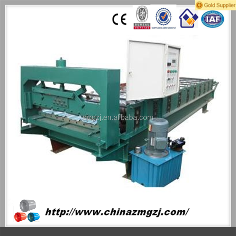 leveling and cutting machine concrete roof tile making machine roofing sheet making machine