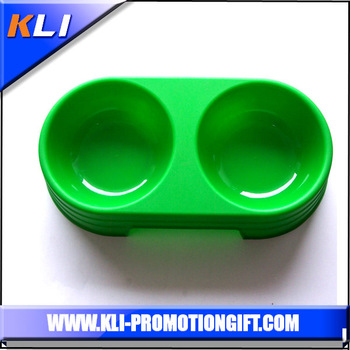 High quality plastic travel pet food bowl