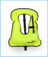 Personalized inflatable kids life jacket