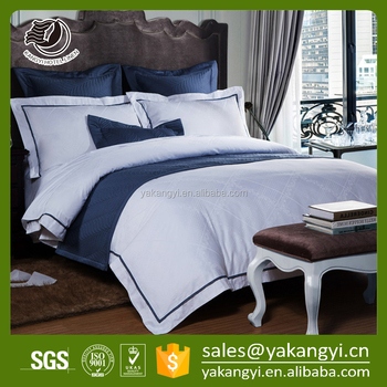 High quality 4 pcs Luxury 100% Cotton Bedding Set For Hotel