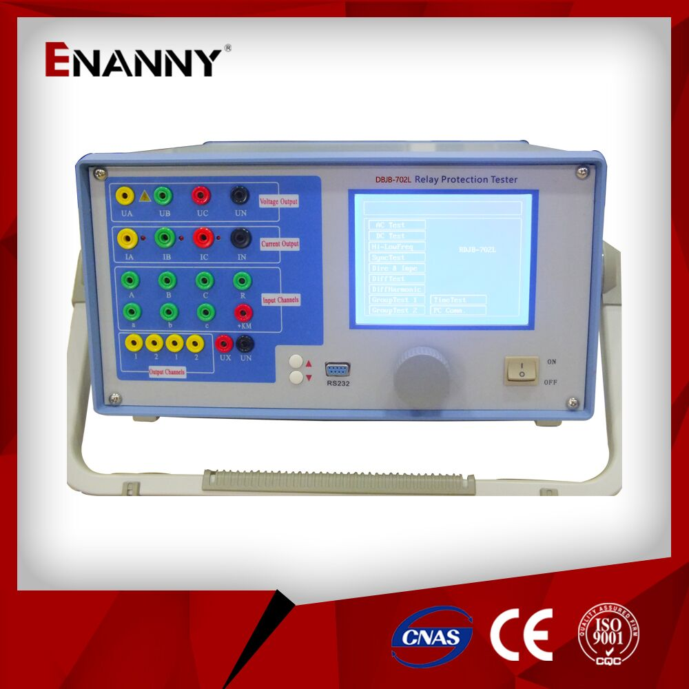 DBJB-702L Three phase relay protection tester with high reliability