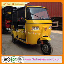 2014 New Fashion Design Motorized Gasoline / CNG Rickshaw Tricycle for passenger for sale