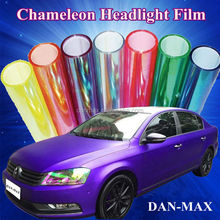 New Product 0.3*10m/Size Color Change Car Headlight Film