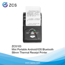 Portable Bluetooth Thermal Printer, Restaurant Billing Receipt Machine, wireless pos printer