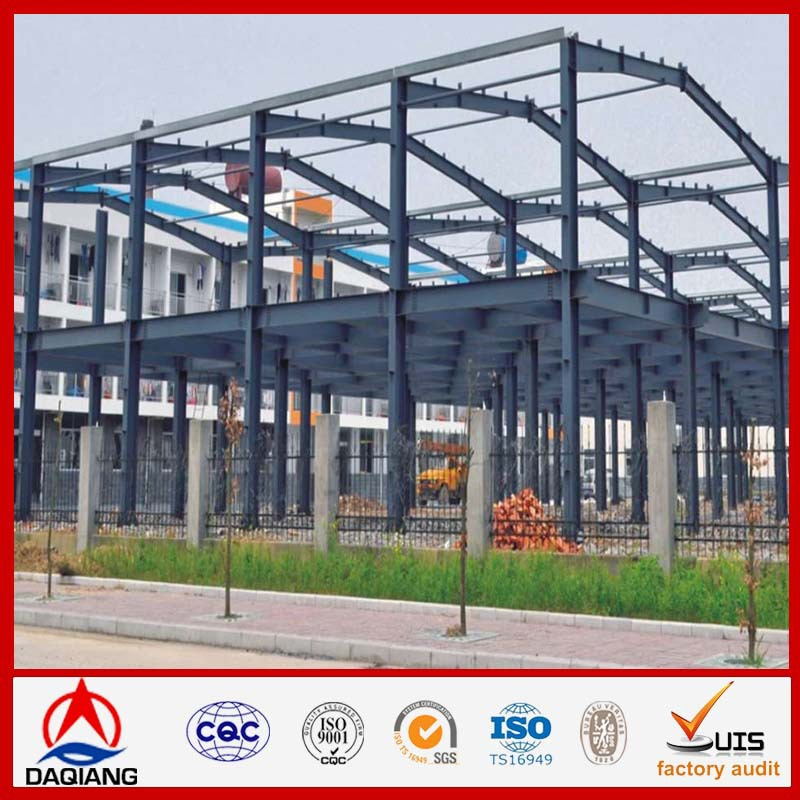 Metal Building galvanized timber frame construction