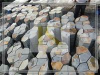 Best Selling china decorative paving natural black quartz slate for Floor and Wall
