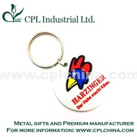high quality 3d soft pvc key chain wholesale