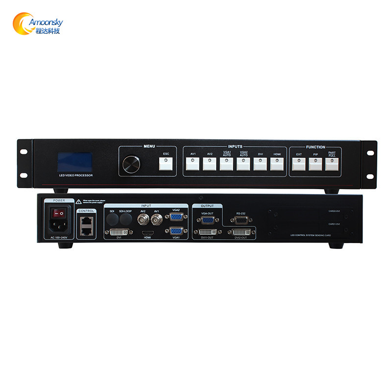 video wall processor for indoor and outdoor led billboard AMS-MVP508 replace vdwall lvp605 lvp605s