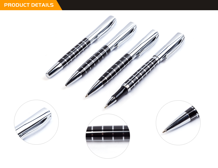 Wholesale Products Promotional Different Style Cheap Custom Logo Print Metal Ball Pen