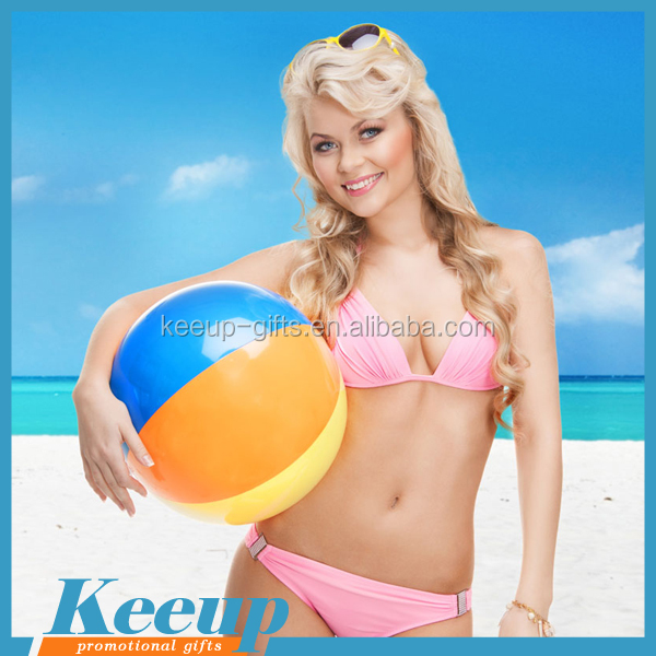 Colorful Beach Ball for Outdoor Advertising Gifts inflatable belly bump ball inflatable giant balloon ball