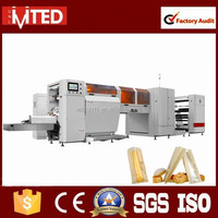 RZJD-G350J High Speed Paper Bag Making Machine With Flexo Printing