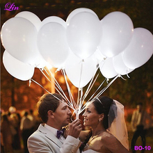 New Arrival Factory Direct Cheapest Hot Selling Dot <strong>12</strong> inch Latex Led Balloon Wedding Decoration LED Balloon
