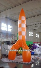 Factory pvc inflatable rockets YP-17