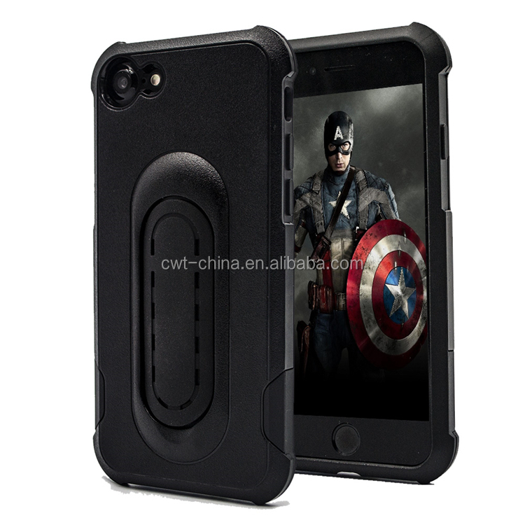 Kickstand cases for iphone 7 hybird armor case with stand for iphone 7