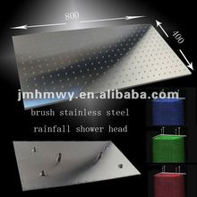 Top-quality LED spout overhead shower head