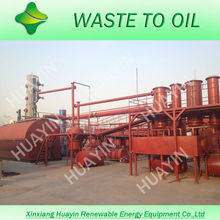 3/5/10T Waste/Used Motor /Ship Oil To Diesel Fuel Without Emission