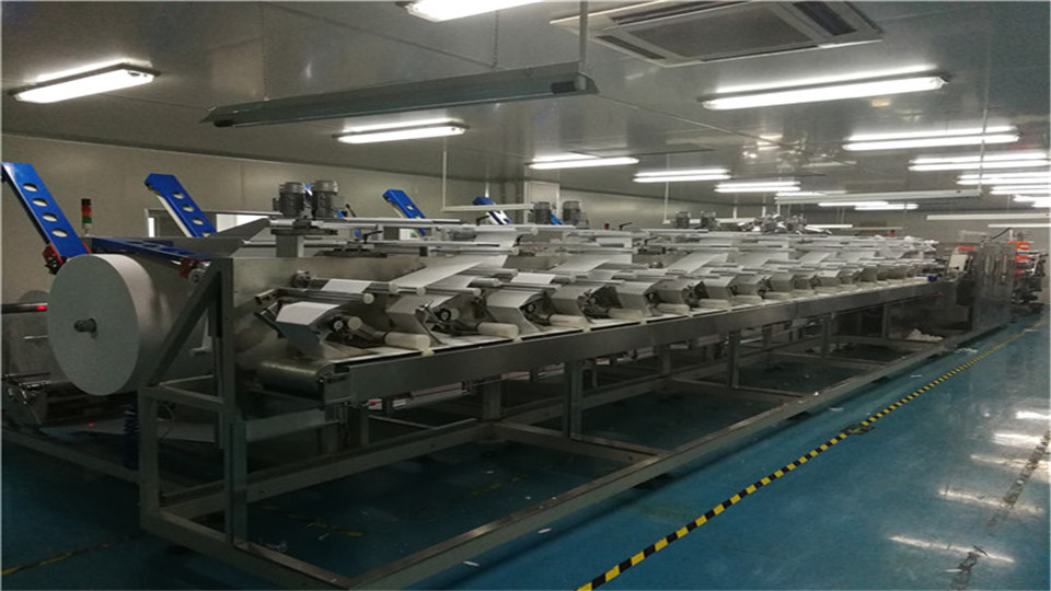 Wet Wipes Automatic Production Line