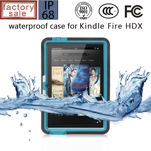 Waterproof Case for Amazon Kindle ,For Amazon Kindle Fire HD 7 Waterproof Case