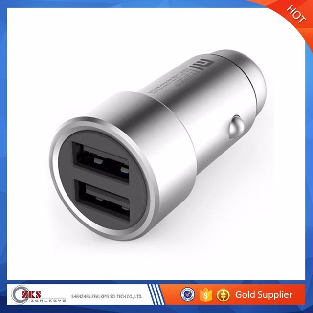 Dual USB Car Chargers for Mobile Phone 3.6A Xiaomi Mi Car Charger Universal 2 Ports