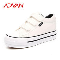 Women 2015 Cavans Sneaker Increase Casual Women Shoes Comfortable Vulvanized Shoes
