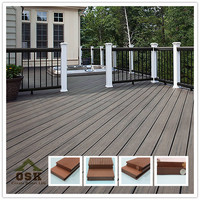 Hot sale china wpc high quality wood plastic composite slats waterproof anti-uv with cheap price