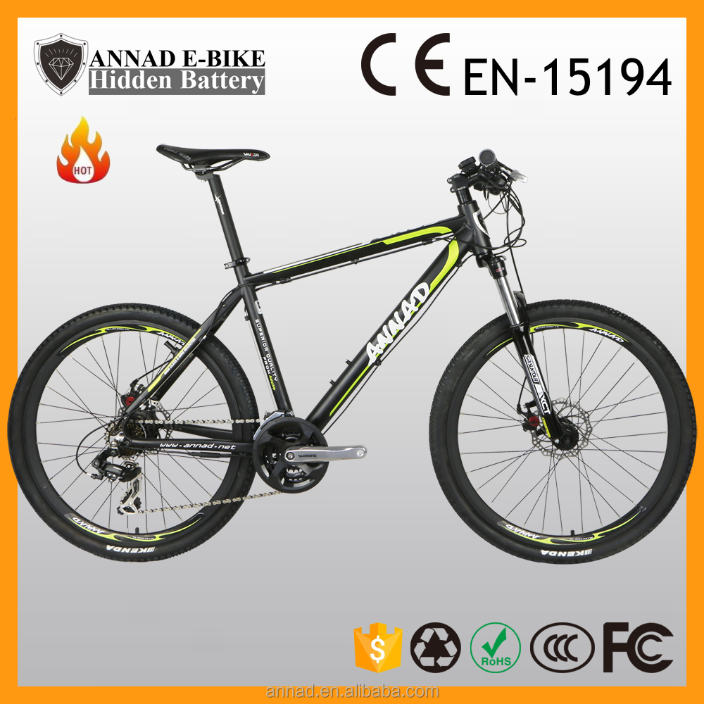 hidden battery Powerful E-bike long distance panasonic li-ion en15194