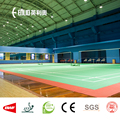 Enlio PVC Badminton flooring mat with BWF