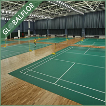 professional anti-skidding ECO friendly waterproof PVC sports flooring for basketball court volleyball court