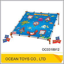 Physical education must play funny beanbag toss game