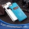 for iphone 6 Card holder mobile phone back cover case , for iphone 6 leather case