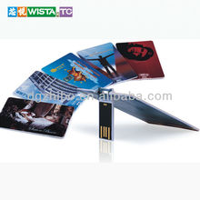 Credit card waterproof Promotional USB Flash drive/USB card