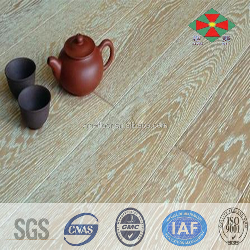 high quality E0 eco-friendly oak quercus engineered wood flooring factory price