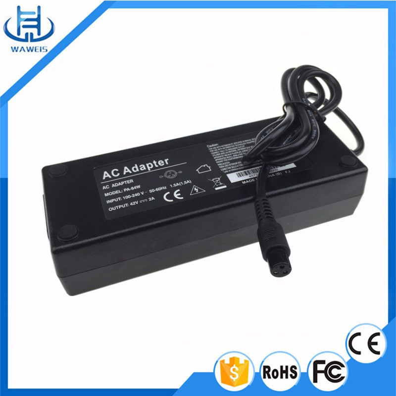 48V quick charging mini battery charger for Balance electric unicycle car