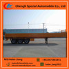 3 axle dropside semi trailer, 20ft/40ft cargo semi trailer, 50 tons side wall trailer