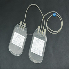 Wholesale CPDA-1 450ml double blood transfusion bag manufacturers