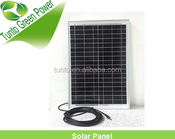 18V 25W solar panel parts solar panel manufacturing equipment solar panel ul