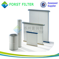 FORST Polyester Fibers Pre Pleated Panel Air Filter
