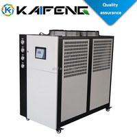 Plastic Machines Air Source Heat Pump For Water Cooled Chiller