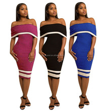 Sexy party club spandex 2017 women bodycon bandage dress