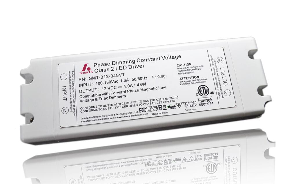 AC to DC constant voltage triac dimmable led driver 12V 45W