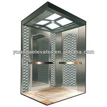 passenger elevator with stainless steel elevator handrail