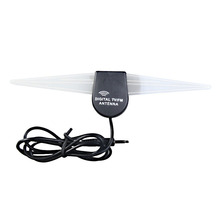 New Windshield Mount Car Auto TV FM Radio Digital Antenna Aerial Strong Signal Booster