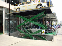 SKYSCRAPING TOWER- 3 car tall lift platform hydraulic pump station large scissor lift table goods lift platforms