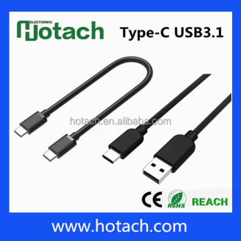 Newest usb 3.1 type c cable/usb c type connector